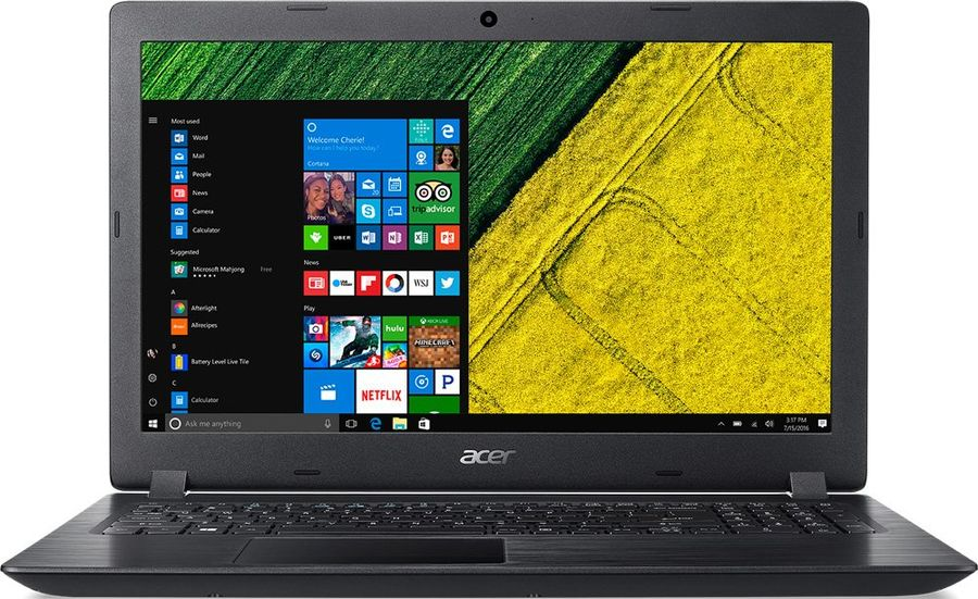 "Ноутбук ACER Aspire A315-51-53UG, 15.6"",  Intel  Core i5  7200U 2.5ГГц, 8Гб, 1000Гб,  Intel HD Graphics  620, Linux, NX.GNPER.011,  черный"
