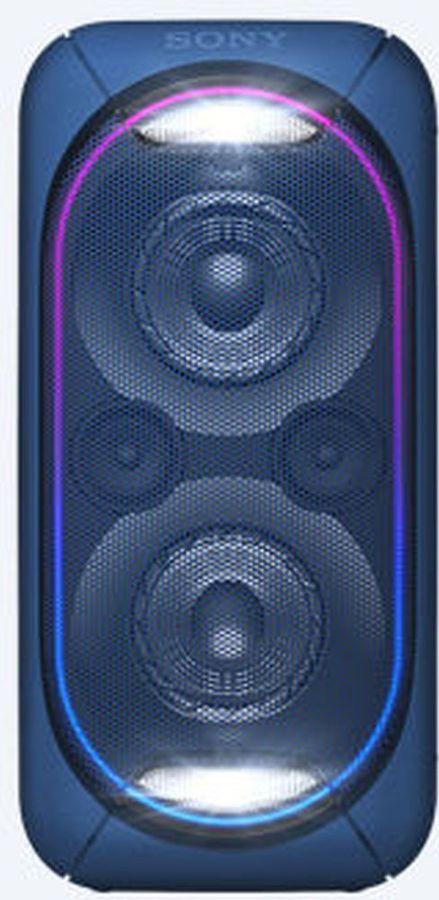 Музыкальный центр SONY GTK-XB60,  синий [gtkxb60l.ru1]