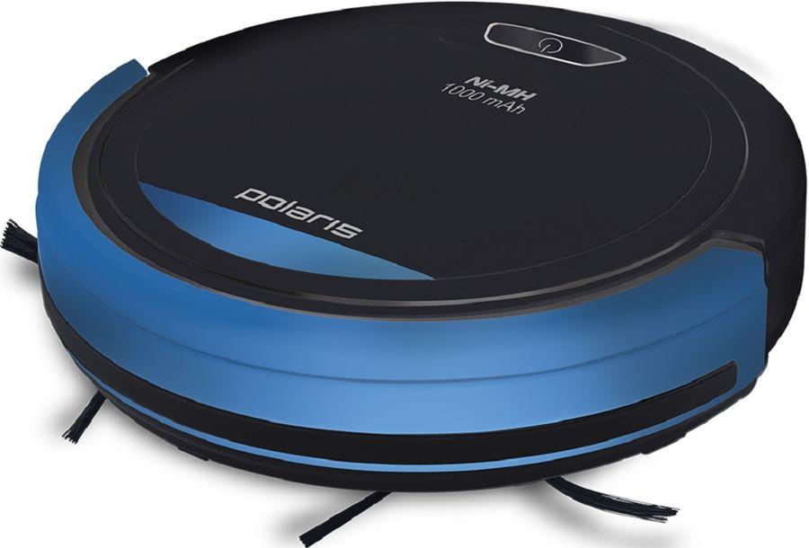 Робот-пылесос POLARIS PVCR 0410, 14.4Вт, черный/синий