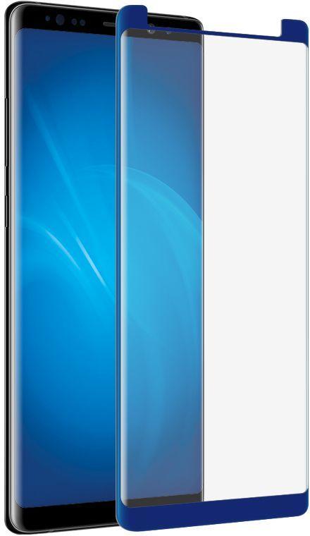 Защитное стекло для экрана DF sColor-26  для Samsung Galaxy Note 8,  1 шт, синий [scolor-26 (blue)]