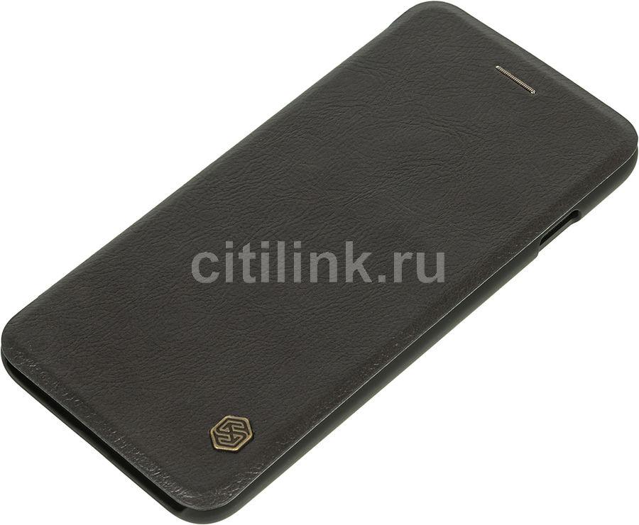 Чехол (флип-кейс)  Nillkin Qin, для Apple iPhone 7 Plus, черный