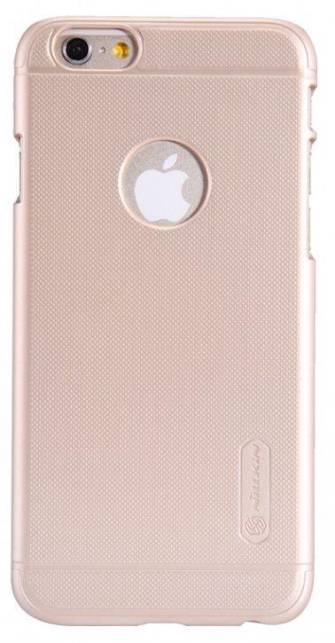 Чехол (клип-кейс)  Nillkin Super Frosted Shield, для Apple iPhone 6/6S, розовый