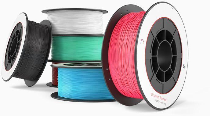 Пластик для принтера 3D BQ 05BQFIL030 PLA d1.75мм 1кг 1цв.