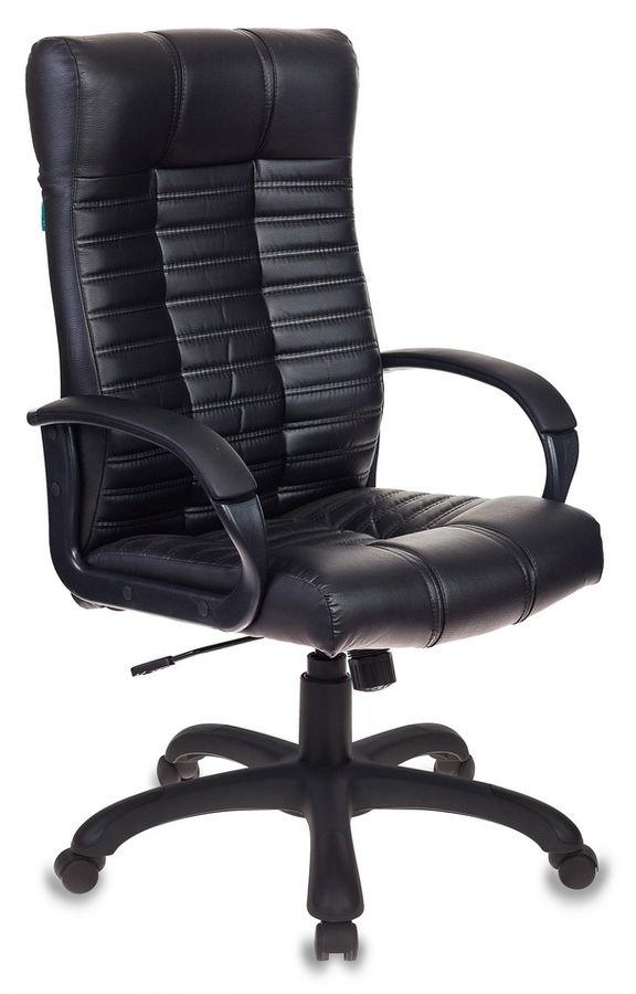 Кресло руководителя БЮРОКРАТ KB-10, на колесиках, искусственная кожа [kb-10/black]