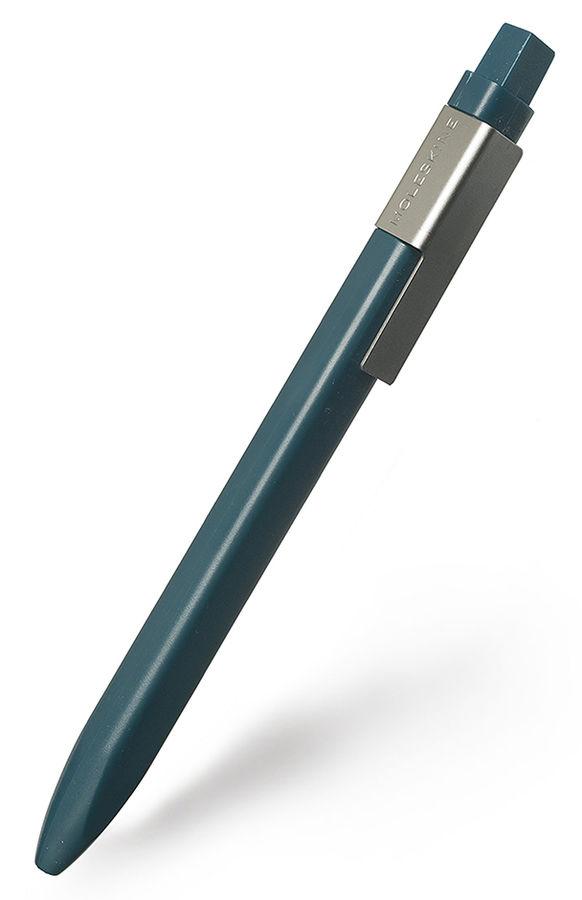 Ручка шариковая Moleskine CLASSIC CLICK (EW41BK710) авт. 1мм прямоугол. темно-зеленый черные чернила