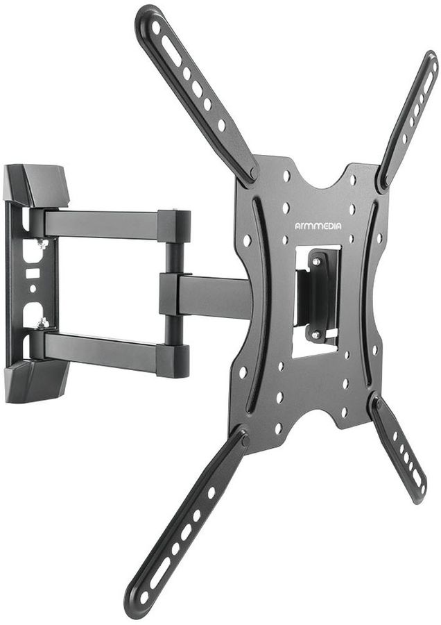 "Кронштейн для телевизора Arm Media LCD-404 черный 26""-55"" макс.30кг настенный поворот и наклон [10185]"