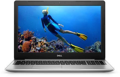 "Ноутбук DELL Inspiron 5570, 15.6"", Intel  Core i5  8250U 1.6ГГц, 8Гб, 1000Гб, AMD Radeon  530 - 4096 Мб, DVD-RW, Linux, 5570-5389,  белый"