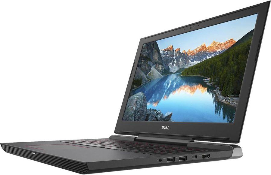 Ноутбук DELL Inspiron 7577, 7577-5464,  черный