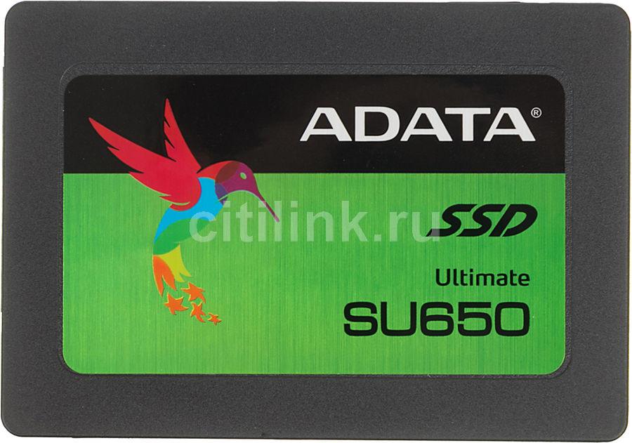 "SSD накопитель A-DATA Ultimate SU650 ASU650SS-120GT-C 120Гб, 2.5"", SATA III"
