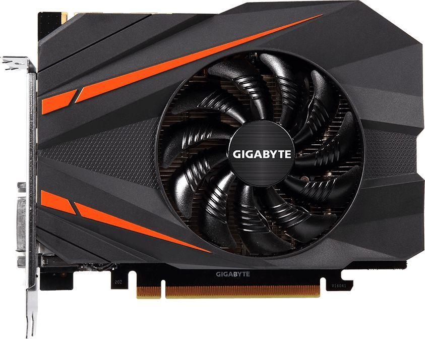 Видеокарта GIGABYTE GeForce GTX 1080,  GV-N1080IX-8GD,  8Гб, GDDR5X, OC,  Ret