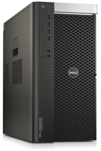 Рабочая станция  DELL Precision T7910,  Intel  Xeon  E5-2620 v4,  DDR4 32Гб, 2Тб,  256Гб(SSD),  DVD-RW,  Windows 7 Professional,  черный [7910-4605]
