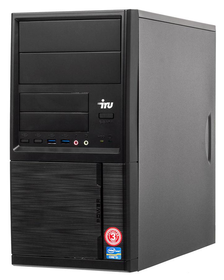 Компьютер  IRU Office 315,  Intel  Core i5  7400,  DDR4 8Гб, 1000Гб,  Intel HD Graphics 630,  Free DOS,  черный [1005804]