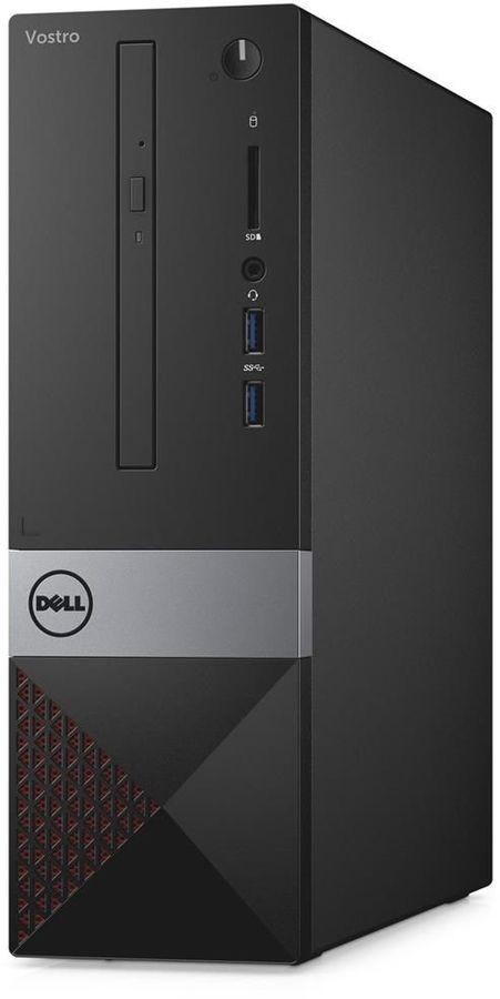 Компьютер  DELL Vostro 3268,  Intel  Core i5  7400,  DDR4 4Гб, 500Гб,  Intel HD Graphics 630,  DVD-RW,  CR,  Windows 10 Home,  черный [3268-5747]