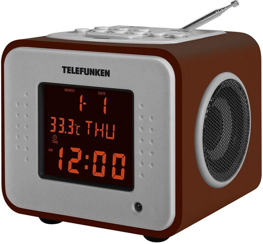 Радиоприемник TELEFUNKEN TF-1575,  дерево темное