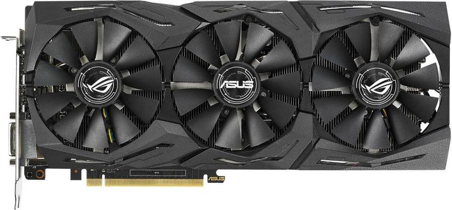 Видеокарта ASUS nVidia  GeForce GTX 1070Ti ,  ROG-STRIX-GTX1070TI-8G-GAMING,  8Гб, GDDR5, OC,  Ret