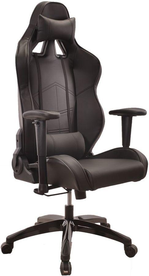 Кресло игровое БЮРОКРАТ CH-776, на колесиках, искусственная кожа [ch-776/black]