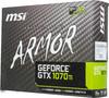 Видеокарта MSI nVidia  GeForce GTX 1070Ti ,  GeForce GTX 1070 Ti ARMOR 8G,  8Гб, GDDR5, Ret вид 7