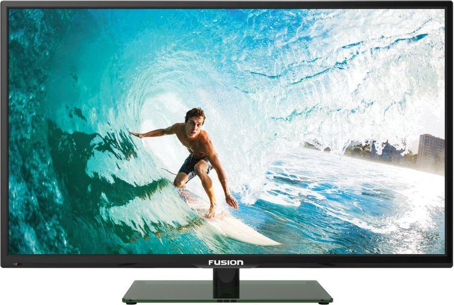 "LED телевизор FUSION FLTV-24H100  ""R"", 24"", HD READY (720p),  черный"