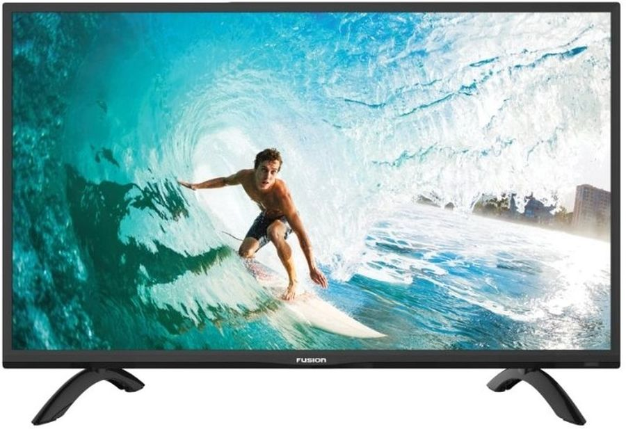 "LED телевизор FUSION FLTV-32C100  ""R"",  черный"