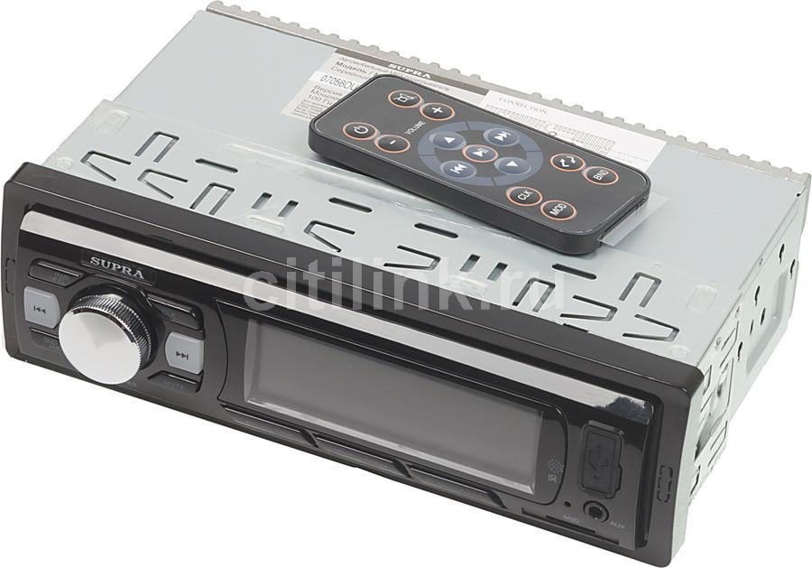 Автомагнитола Supra SFD-43U 1DIN 4x40Вт (отремонтированный)