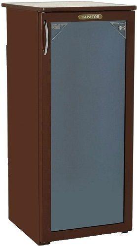 Холодильная витрина САРАТОВ 501-01,  однокамерный, коричневый