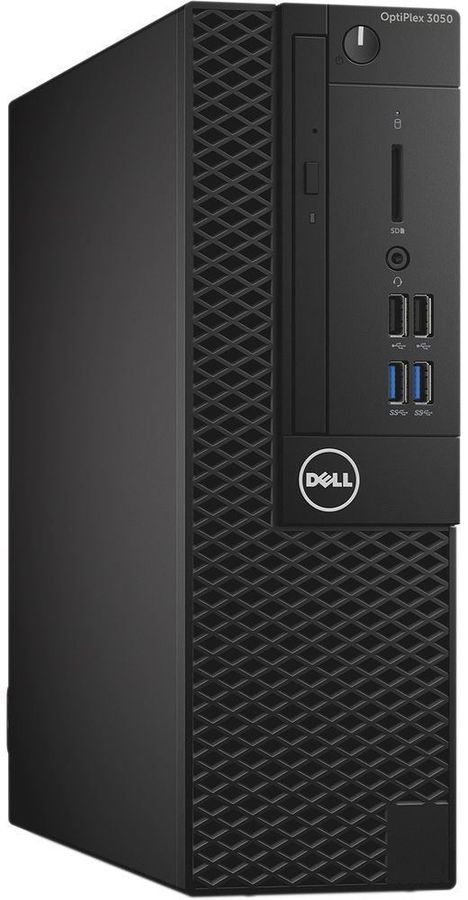 Компьютер  DELL Optiplex 3050,  Intel  Core i5  6500,  DDR4 8Гб, 256Гб(SSD),  Intel HD Graphics 530,  DVD-RW,  Linux Ubuntu,  черный [3050-8130]