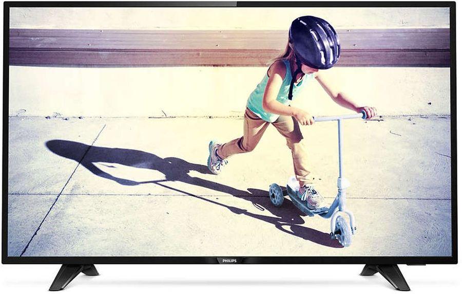 """LED телевизор PHILIPS 43PFT4132/60  """"R"""",  черный"""