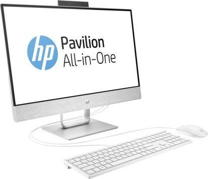 Моноблок HP Pavilion 24-x009ur, Intel Core i7 7700T, 8Гб, 2Тб, Intel HD Graphics 630, Windows 10, белый [2mj60ea]