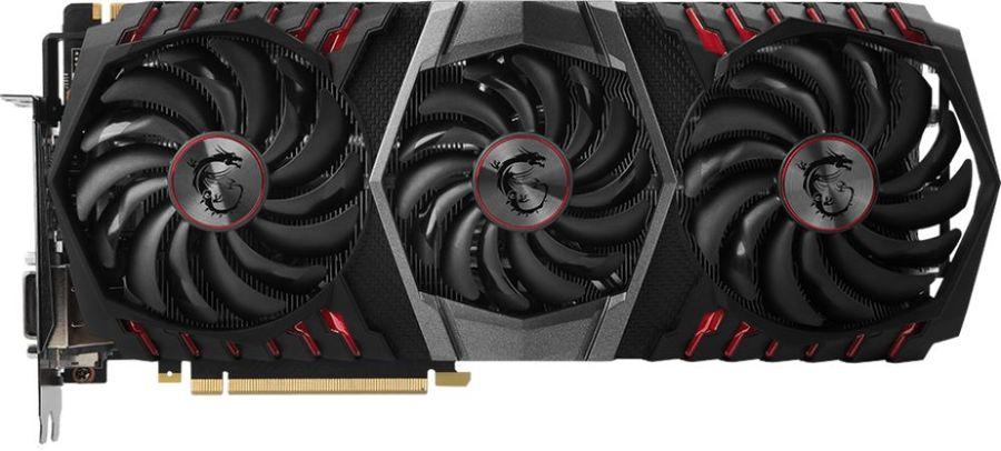 Видеокарта MSI nVidia  GeForce GTX 1080Ti ,  GeForce GTX 1080 Ti GAMING X TRIO,  11Гб, GDDR5X, OC,  Ret