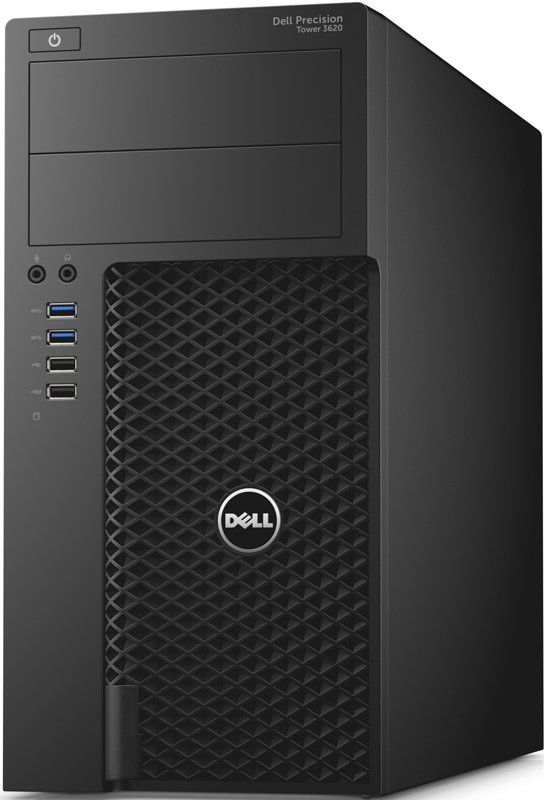 ПК Dell Precision 3620 MT i7 6700/8Gb/1Tb 7.2k/K620 2Gb/DVD/W7ProML64dwnW10Pro/черный [210-afli]