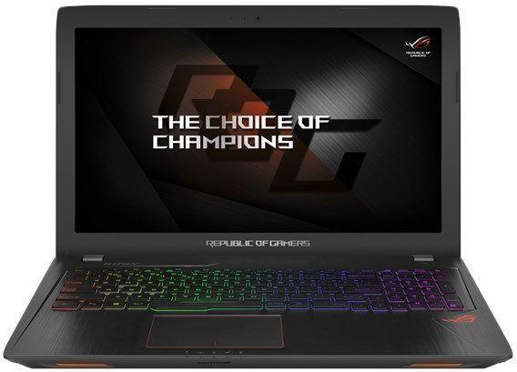 Ноутбук ASUS ROG GL553VE-FY269, 90NB0DX3-M06350,  черный
