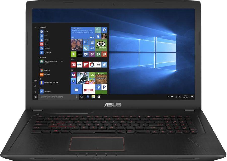 Ноутбук ASUS FX553VE-FY177, 90NB0DX4-M06930,  черный