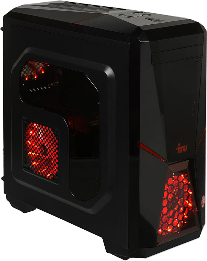 Компьютер  IRU Premium 517,  Intel  Core i7  7700,  DDR4 32Гб, 2Тб,  NVIDIA GeForce GTX 1080 - 8192 Мб,  Free DOS,  черный [1014839]