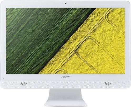 "Моноблок ACER Aspire C20-720, 19.5"", Intel Pentium J3710, 4Гб, 500Гб, Intel HD Graphics 405, DVD-RW, Free DOS, белый [dq.b6zer.009]"