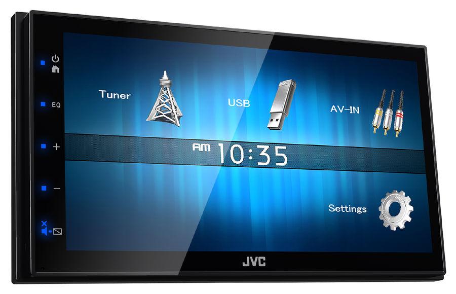Автомагнитола JVC KW-M14,  USB