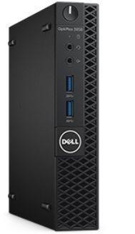 Компьютер  DELL Optiplex 3050,  Intel  Core i3  6100T,  DDR4 4Гб, 500Гб,  Intel HD Graphics 530,  Windows 10 Professional,  черный [3050-2530]