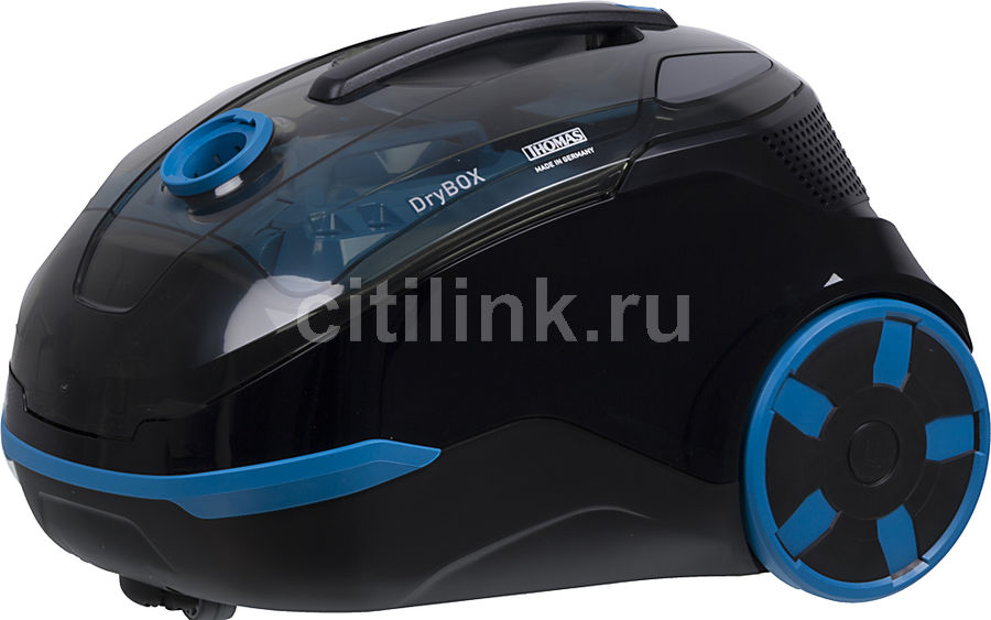 Пылесос THOMAS DryBOX 1700Вт, черный/голубой