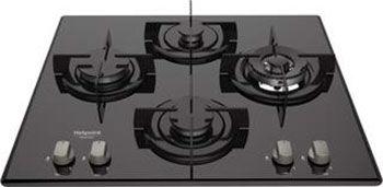 Варочная панель HOTPOINT-ARISTON 642 DD /HA(BK),  независимая,  черный