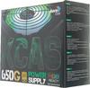 Блок питания Aerocool ATX 650W KCAS-650G 80+ gold (24+4+4pin) APFC 120mm fan color (отремонтированный) вид 6