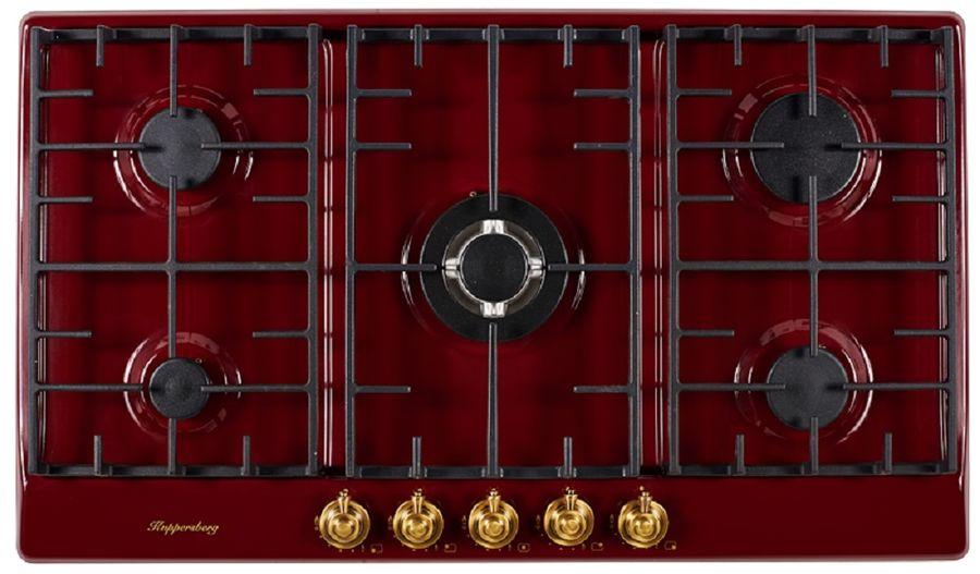 Варочная панель KUPPERSBERG FV9TGRZBOR Bronze,  независимая,  бордовый