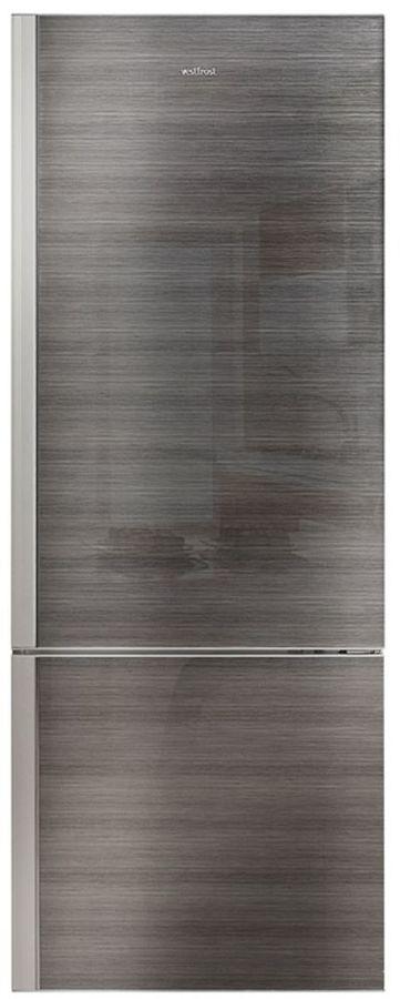 Холодильник VESTFROST VF 566MSLV,  двухкамерный, графит