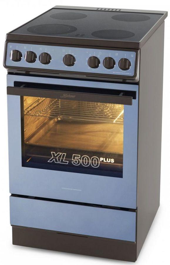 Электрическая плита KAISER HC 52010 B Moire,  стеклокерамика,  коричневый