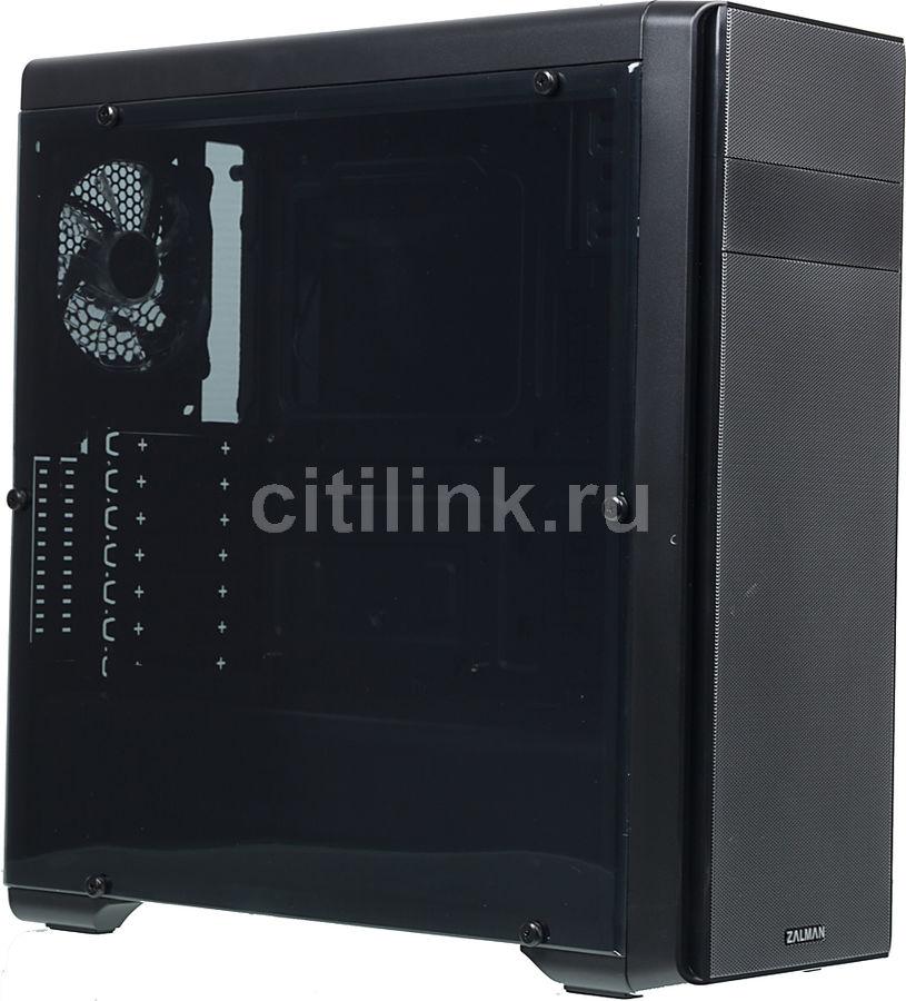 Корпус ATX ZALMAN N3, Midi-Tower, без БП,  черный
