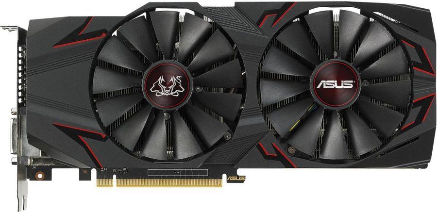 Видеокарта ASUS nVidia  GeForce GTX 1070Ti ,  CERBERUS-GTX1070TI-A8G,  8Гб, GDDR5, OC,  Ret