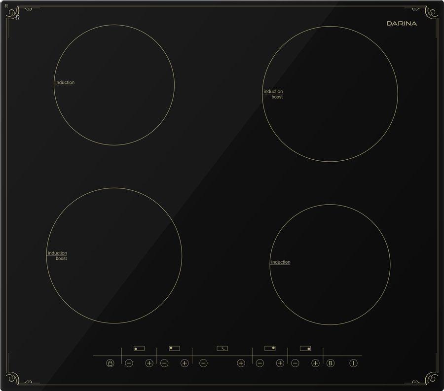 Индукционная варочная панель DARINA P8 EI 305 B,  индукционная,  независимая,  черный