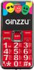 Мобильный телефон GINZZU MB505,  красный