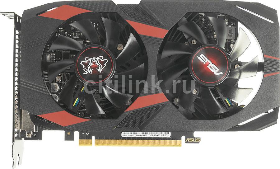 Видеокарта Asus PCI-E CERBERUS-GTX1050TI-O4G NV GTX1050TI 4096Mb 128b GDDR5 1366/7 (отремонтированный)
