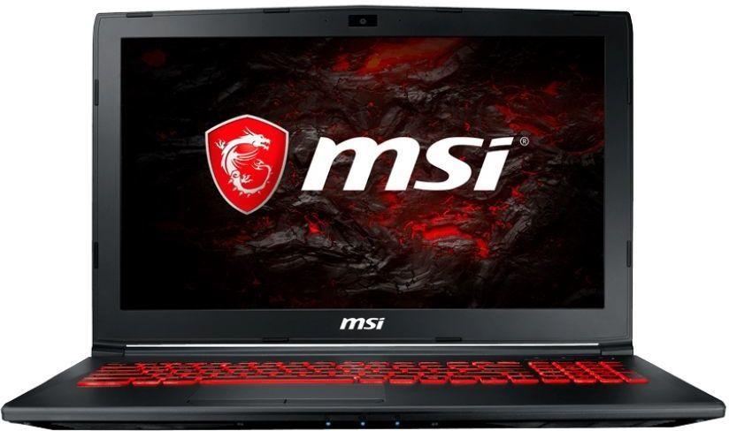 Ноутбук MSI GL62MVR 7RFX-1258XRU, 9S7-16JBE2-1258,  черный