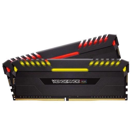 Модуль памяти CORSAIR Vengeance RGB CMR32GX4M2D3200C16 DDR4 -  2x 16Гб 3200, DIMM,  Ret