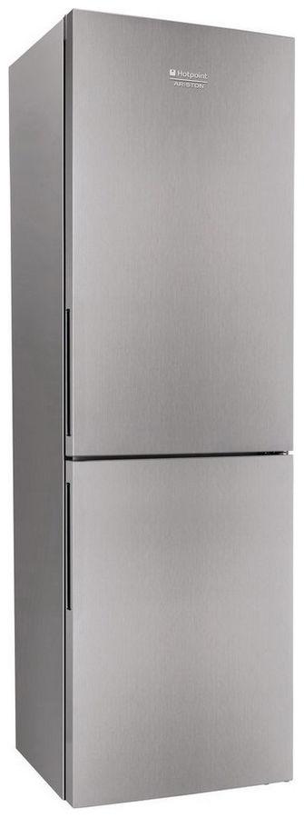 Холодильник HOTPOINT-ARISTON HS 4180 X,  двухкамерный, нержавеющая сталь
